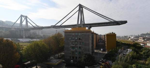 Puente Morandi, Génova