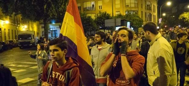 Protestas contra Vox en Andalucía,