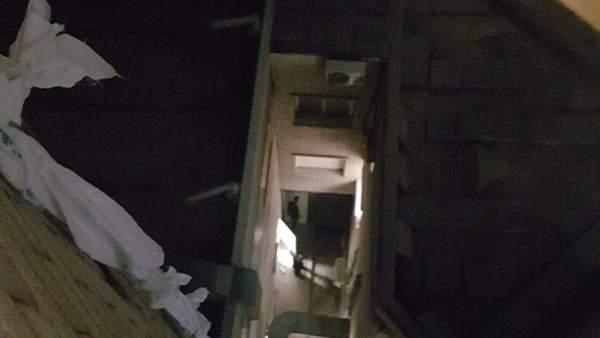 Sábanas entrelazadas por un preso para huir del hospital Gregorio Marañón