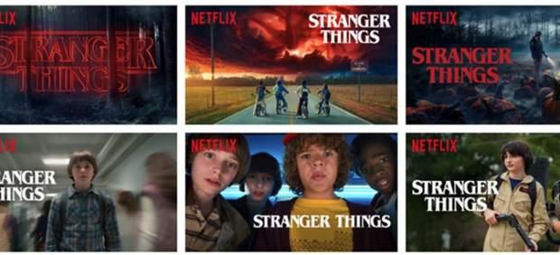 Capturas de 'Stranger Things' de Netflix