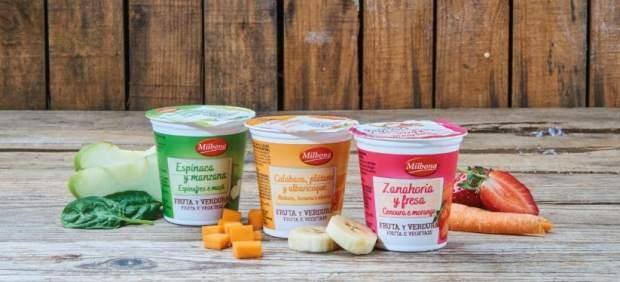 Los primeros yogures con verduras del mercado