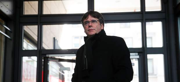 Carles Puigdemont en Alemania