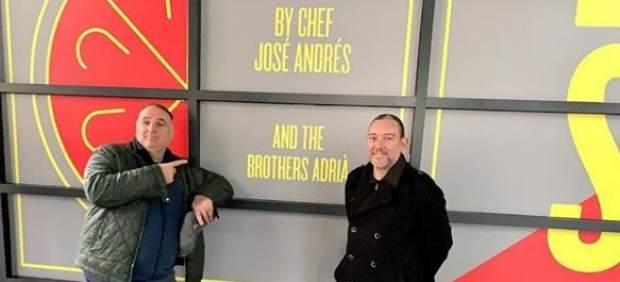 Albert Adrià y José Andrés