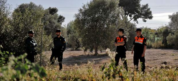 Dispositivo de la Guardia Civil en Godella (Valencia)