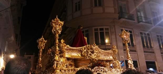 Semana Santa de Málaga. Cristo de Estudiantes