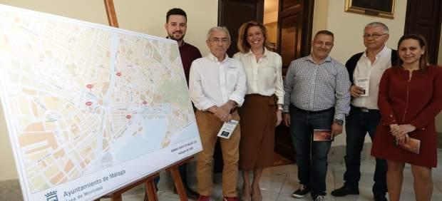 Málaga.- El Ayuntamiento de Málaga pone en marcha el plan de ordenación del tráfico por la Semana Santa
