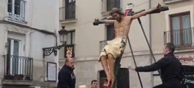 El Cristo de las Gotas de Burgos