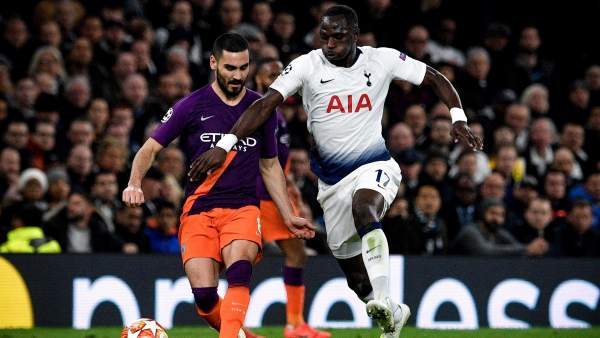 Sissoko, del Tottenham