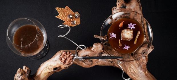 Cordorniz & Vino, plato ganador de Albert Manso