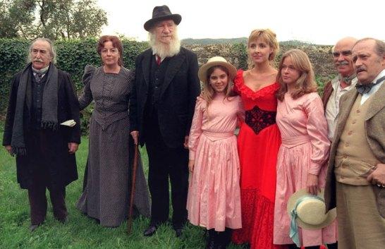 Reparto de El abuelo, la versión cinematográfica de Garci de 1998.