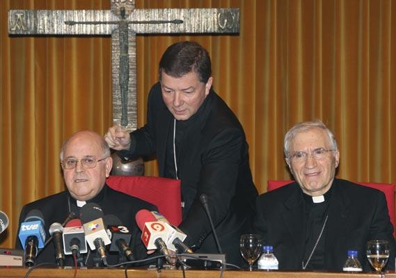 Antonio María Rouco Varela ha vuelto a ser nombrado recientemente presidente de la Conferencia Episcopal. (BERNARDO RODRÍGUEZ / EFE)