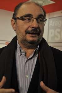 Lambán (PSOE) anima a sus compañeros a