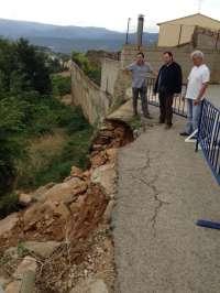 La DPT colabora en la recuperación de las infraestructuras municipales y viarias afectas por tormentas en el Matarraña