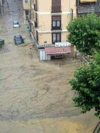 Las tormentas afectan a las comarcas de Calatayud, Aranda, Campo de Borja y Ribera Alta del Ebro