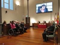 DPZ reconoce la trayectoria de Teresa Perales, Vicente Comet y Javier Pardo con las Medallas de Santa Isabel