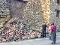El Ayuntamiento de Allepuz solicitará ayudas del Plan de Emergencias de la Diputación de Teruel tras las tormentas