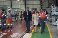 ArcelorMittal inaugura un gimnasio en la fábrica de Pedrola para prevenir accidentes y favorecer salud laboral