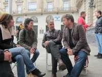 CHA inicia su campaña '#CharrandoCon...' para dialogar con los aragoneses y conocer sus necesidades