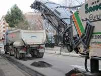 La operación asfalto continuará la semana próxima en Las Fuentes y San José