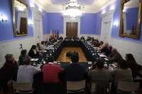 La DPZ explica a los alcaldes el plan de actuación para reparar los caminos y vías rurales