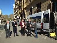 Las entidades Aspace y Atades de Huesca ya cuentan con nuevos vehículos de transporte social adaptado