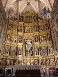 Cultura licitará los trabajos de restauración del retablo mayor de la Iglesia Parroquial Ibdes