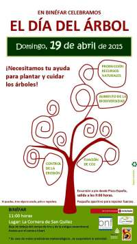 Binéfar convoca una plantación popular en la Sierra de San Quílez