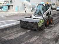 La operación asfalto continúa en los barrios rurales y en el Centro