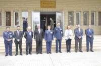 El Rey visita la Base Aérea de Zaragoza, que renovará parte de su flota de transporte táctico