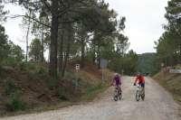 Pinares de Rodeno y la Laguna de Gallocanta cuentan con un servicio de alquiler de bicicletas