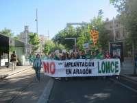 El Frente Anti-LOMCE reclama la paralización de la implantación de la Ley