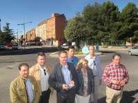 Blasco (PP) se compromete a embellecer las entradas a la ciudad de Teruel