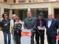 Pérez Anadón (PSOE) propone un contrato por la inclusión social que extiende a contratas municipales