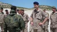 El Rey asiste al ejercicio militar de la Brigada de Sanidad del Ejército de Tierra