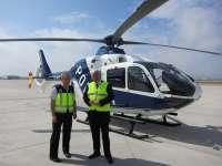 La Jefatura Superior de Policía de Aragón refuerza sus medios con la adquisición de un helicóptero