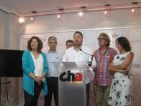 Zaragoza.- El Comité de Redolada del Ligallo de CHA acuerda apoyar la investidura de Santisteve (ZEC)