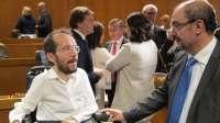 Lambán (PSOE) estima que el final de las negociaciones con Podemos