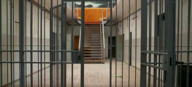 El interior de una cárcel