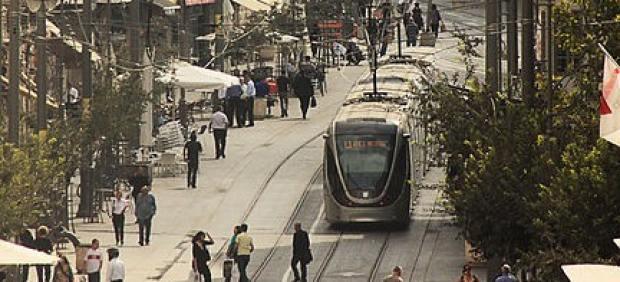 El tranvía de Jerusalén