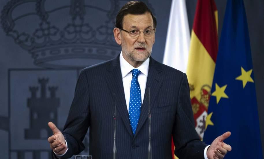 Rajoy comparece ante los medios el lunes.