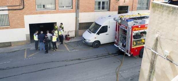Explosión en Teruel