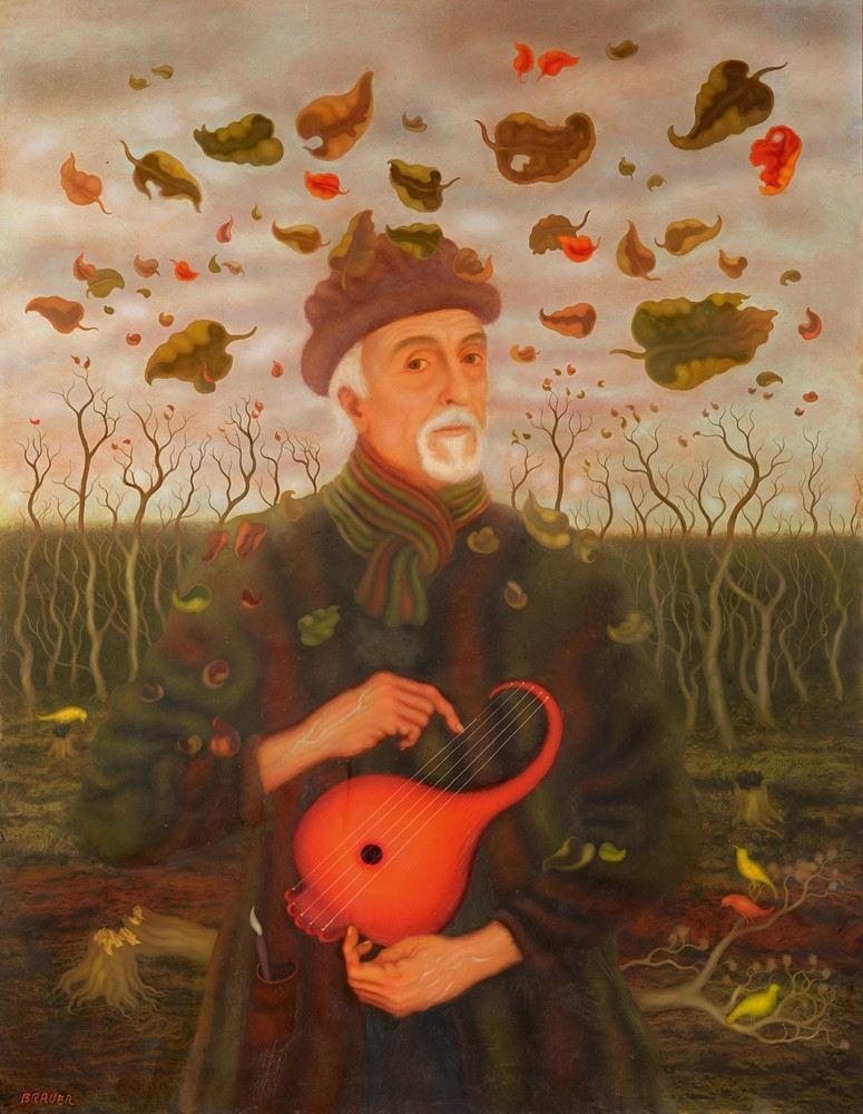 'Arik Brauer en otoño'