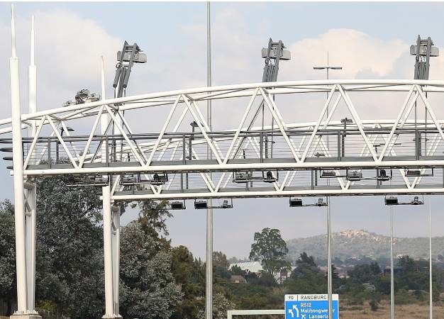 One structure of the e-toll system.