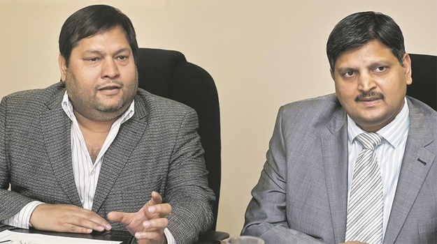 Ajay and Atul Gupta. (Pic: Gallo Images)