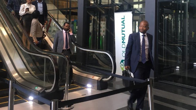 Peter Moyo at Old Mutual's head offices in Sandton
