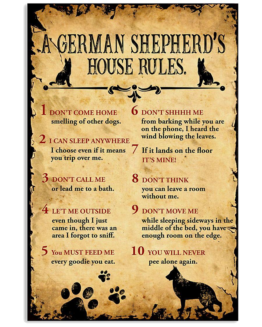 german shepherd s house rules