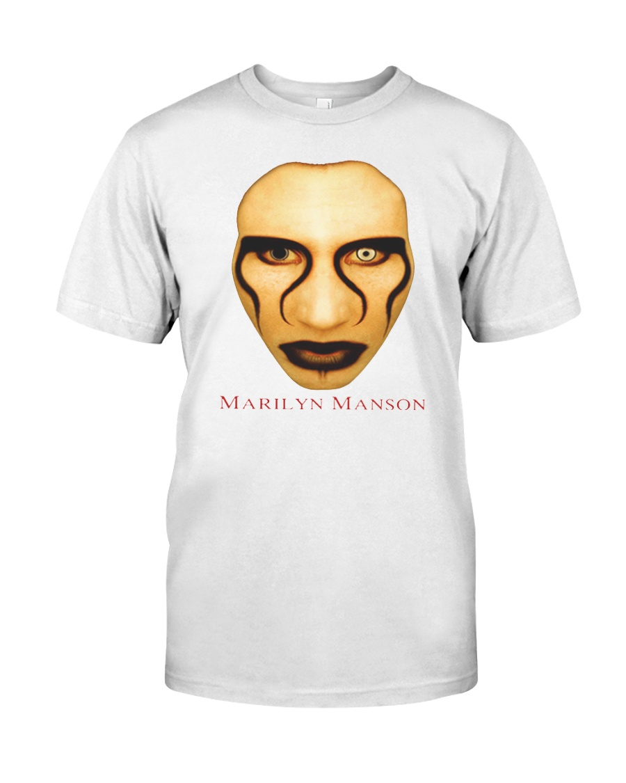 lil uzi marilyn manson shirt classic t shirt size white
