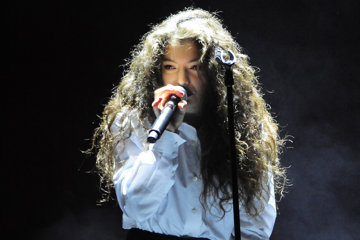 Lorde (AAP File)