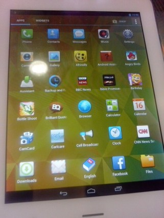 latest tecno pad