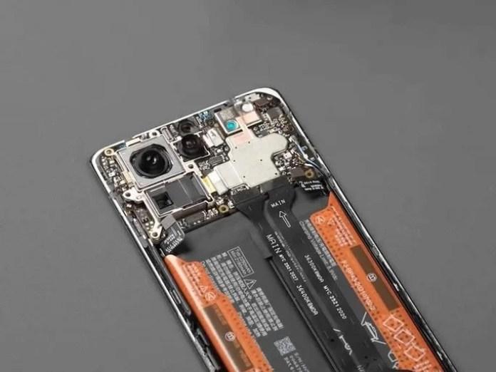 O interior do Xiaomi Mi MIX 4